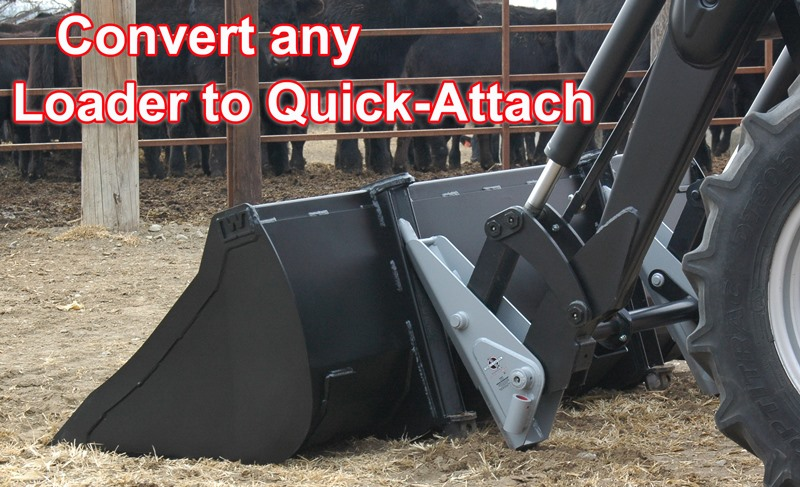 Convert any loader to Skid Steer or Quick-Attach Parts